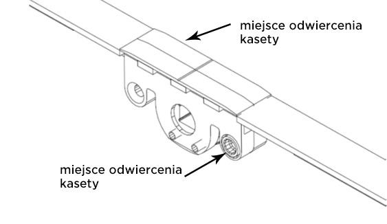kaseta naprawcza autoPilot pdwiercenie kasety