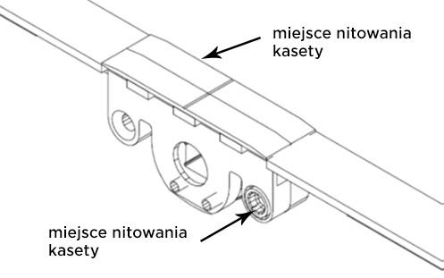 kaseta autoPilot Winkhaus - nitowanie