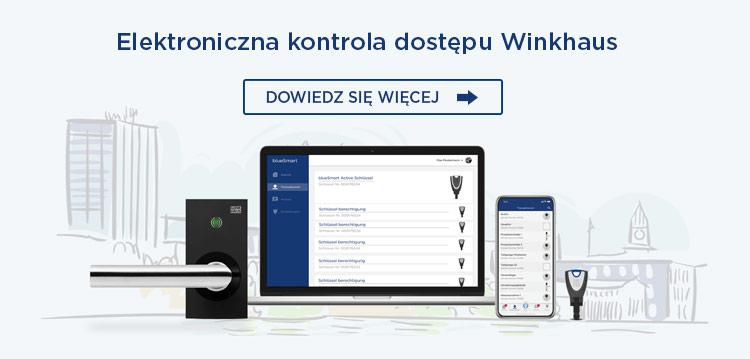elektroniczna kontrola dostępu Winkhaus
