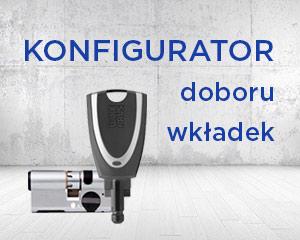 Konfigurator doboru wkładek Winkhaus