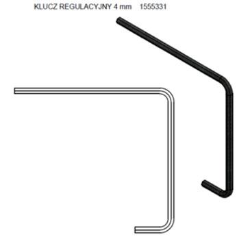 klucz imbusowy 4 mm